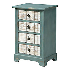 Coast to Coast 4 Drawer Accent