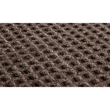 Waterhog Low-Profile Floor Mat, 3' x 5', Cocoa Brown