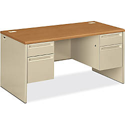 HON 3800 Series Double Pedestal Desk