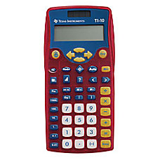 Texas Instruments TI 10 Calculators Teacher