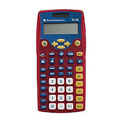 Texas Instruments TI 10 Scientific Calculator