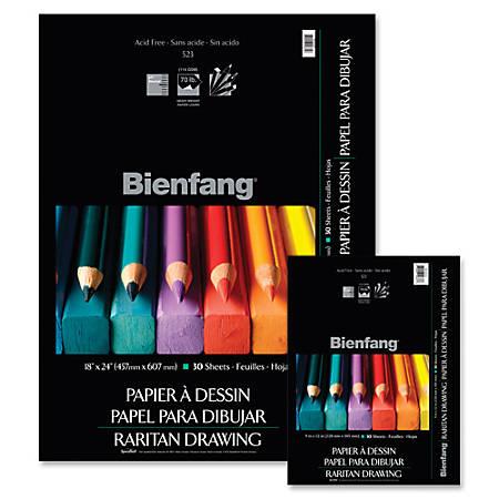 "Bienfang® Raritan Drawing Pad, 9"" x 12"", 30 Sheets"