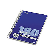Mead 5 subject Spiral Notebook 180