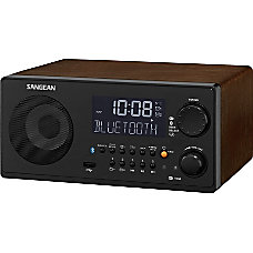 Sangean WR 22 Desktop Clock Radio