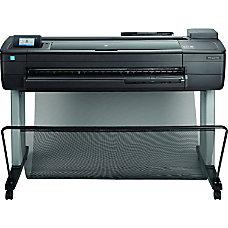 HP DesignJet T830 Wireless Color Inkjet