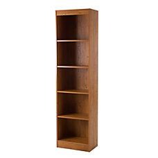South Shore Axess 5 Shelf Narrow