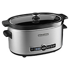 KitchenAid 6 Quart Slow Cooker With