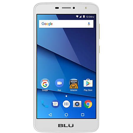 BLU Studio Mega S610P Cell Phone, Gold, PBN201244