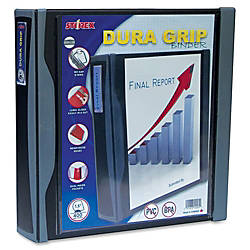 Storex Dura Grip D ring Black