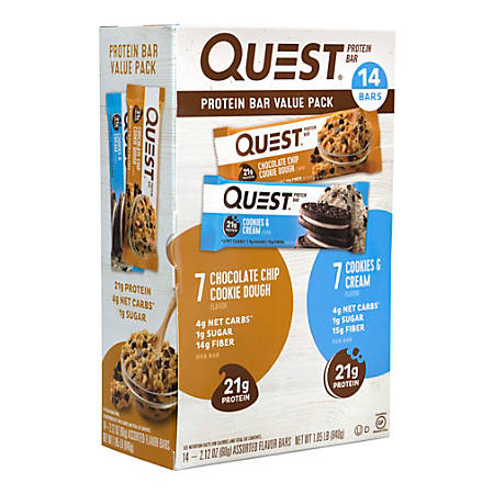 QUEST Protein Bar Variety Value Pack, 14 Count