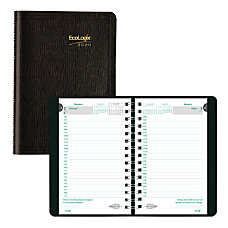 Brownline EcoLogix Daily Planner 8 x