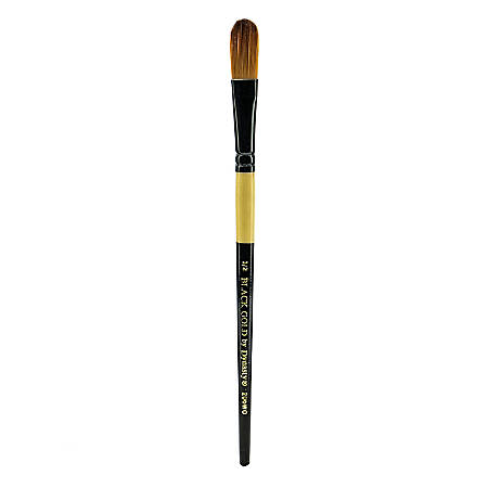 "Dynasty Short-Handled Paint Brush, 1/2"", Oval Wash Bristle, Synthetic, Multicolor"