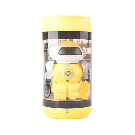 Braha Industries IR Control Robot In Can, Yellow