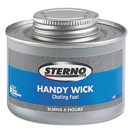 Sterno® Handy Wick Chafing Fuel, 6-Hour Burn, Pack Of 24 Cans