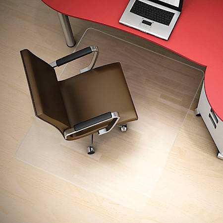 Deflect O Clear Polycarbonate Chair Mat For Hard Floors 36