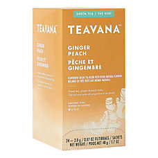 Teavana Ginger Peach Green Tea Bags