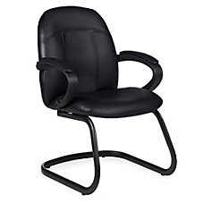 Global Tamiri Leather Guest Chair 37