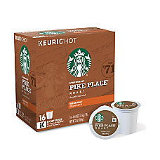 Starbucks Pods Pike Place Coffee K