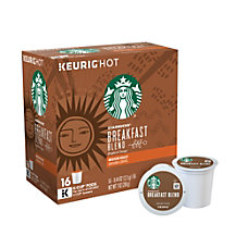 Starbucks Breakfast Blend Coffee K Cup