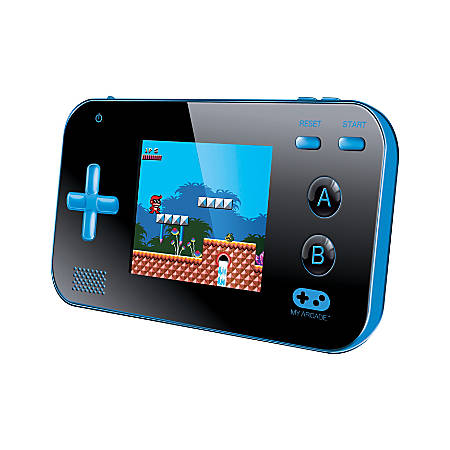 Dreamgear My Arcade® Gamer V Portable Gaming System With 220 Games, Blue/Black, DG-DGUN-2888