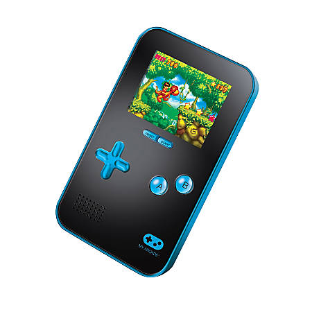 Dreamgear My Arcade® Go Gamer Portable Gaming System With 220 Games, Blue/Black, DG-DGUN-2890