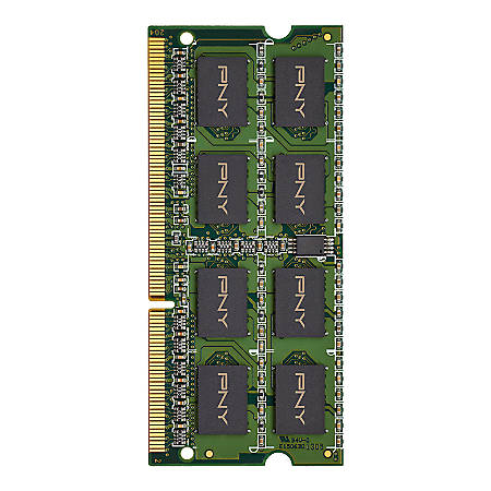 PNY 8GB 1600MHz DDR3 SDRAM Laptop Memory