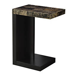 Monarch Specialties Modern End Table DarkCappuccino
