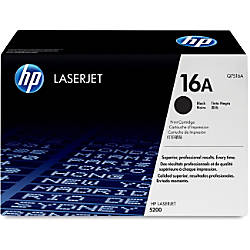 HP 16A Black Original Toner Cartridge