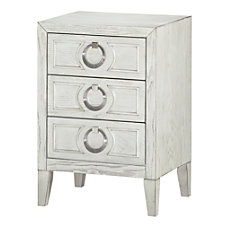 Coast To Coast 3 Drawer Chairside