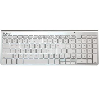 06527e7c353 iHome Wireless Bluetooth Keyboard For Apple Mac Silver - Office Depot