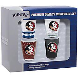 Hunter NCAA Shot Glass Collector Set