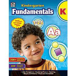 Thinking Kids Fundamentals Workbook Kindergarten