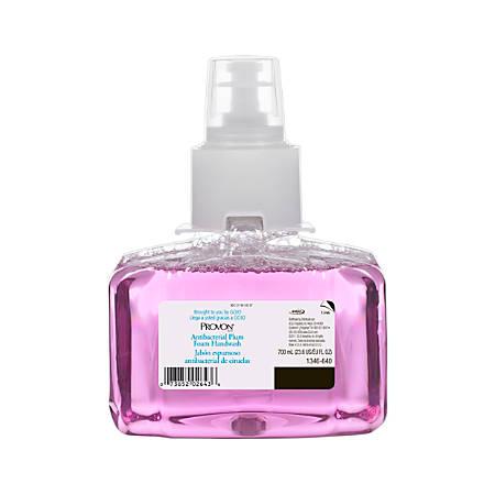 PROVON LTX-7 Foam Handwash Antibacterial, Plum, 23.6 Oz