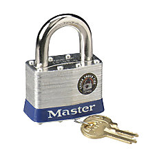 Master Lock 2 Steel Security Padlock