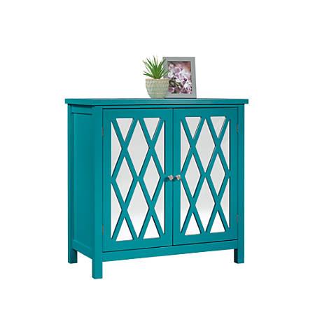 Sauder® Inspired Accents Storage Cabinet, Caribbean Blue