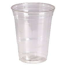 Dixie Crystal Clear Plastic Cups 16