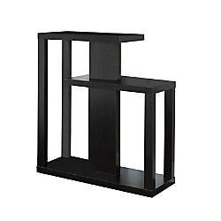 Monarch Specialties Console Table Staggered Cappuccino