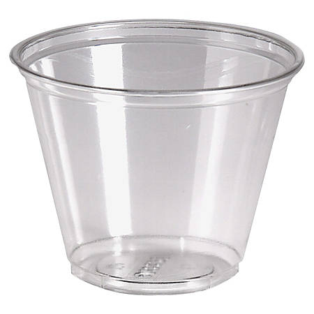 Dixie® Crystal Clear Plastic Cups, 9 Oz., Box Of 1,000