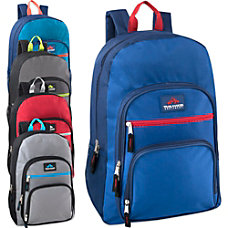 Trailmaker Multi Pocket Backpacks Assorted Colors