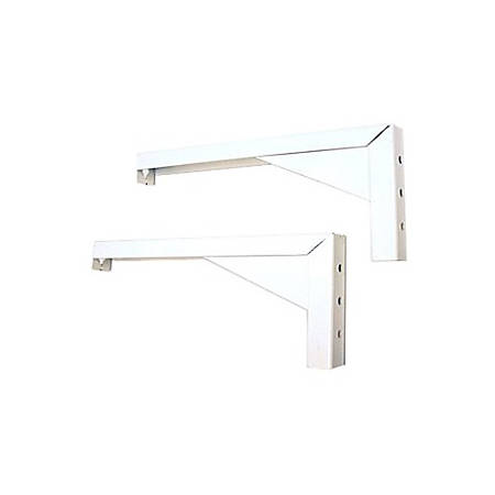 "Elite Screens? 12"" Wall and Ceiling Hanging L-Brackets"