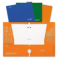 Five Star Portfolio 2 Pockets Assorted