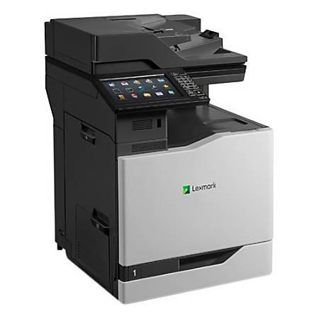 Lexmark CX825DE Color Laser All-In-One Printer, Copier, Scanner, Fax