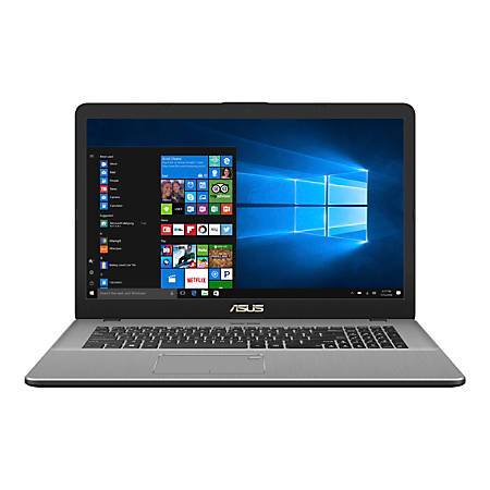 "ASUS® VivoBook Pro Star Laptop, 17.3"" Screen, 8th Gen Intel® Core™ i7, 16GB Memory, 512GB Solid State Drive, Windows® 10, N705FD-DS77"