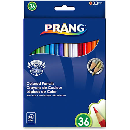 Prang® Color Pencils, Pack Of 36