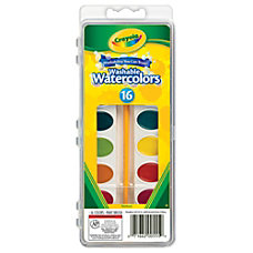 Crayola Washable Watercolor Paint Set