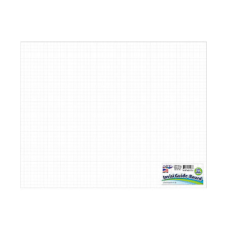 "Artskills® Invisi-Guide Poster Board, 22"" x 28"", White"