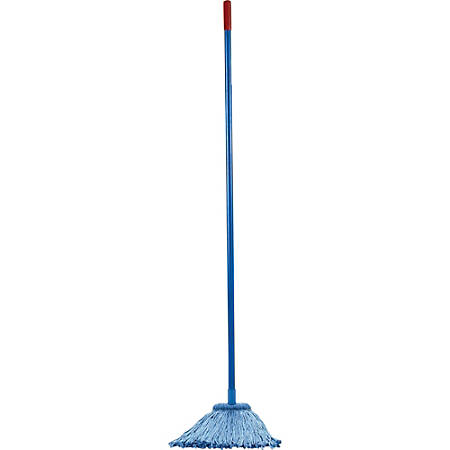 """Layflat Products 70% Recycled Screw Type Mop Kit, 54"""" Handle"""