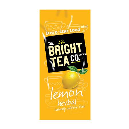 MARS DRINKS™ Flavia® The Bright Tea Co.™ Lemon Herbal Tea Freshpacks, 0.25 Oz, Case Of 100