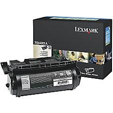 Lexmark X644X11A Return Program Black Extra