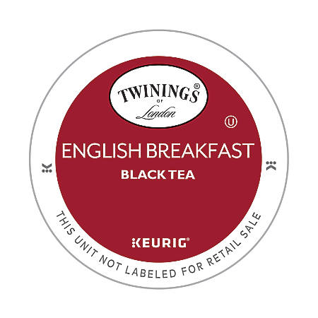 Twinings® Pods English Breakfast Tea K-Cup® Pods, 4 Oz, Box Of 18